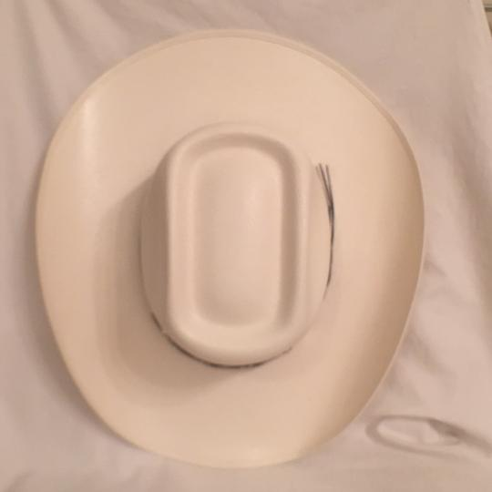Montecarlo NWOT! Bullhide 100X Panama Straw Round-Up Collection Silver City