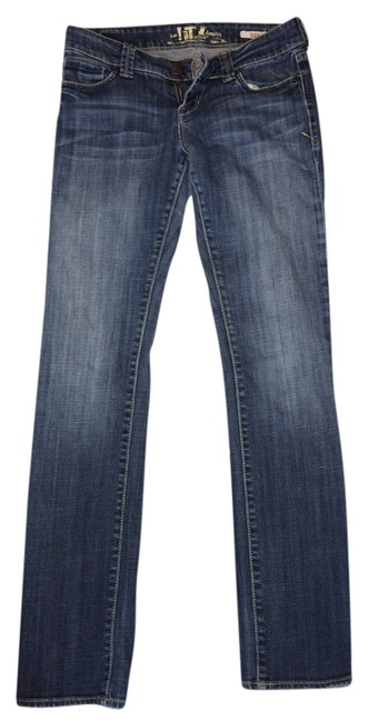 !iT Jeans Boot Cut Jeans-Medium Wash