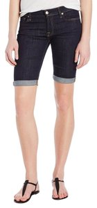 7 For All Mankind Short Capris Ink Rinse