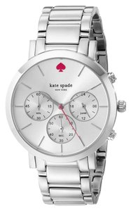 Kate Spade Kate Spade 1YRU0714 Gramercy Grand Silver Tone Watch NEW! $225