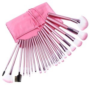 Other Pretty Pink 23pc. Makeup Brush Set Including Brush Organizer Case