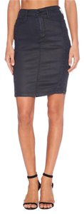 True Religion Chloe Pencil Skirt Coated Night