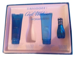davidoff 3-Peice COOL WATER Women Perfume/Lotion/Shower Box Set-Retail$69.99