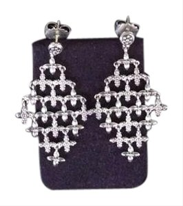 Lagos S/S Floral Diamond Shape Earring