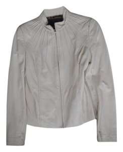 Manna Leather nude Leather Jacket