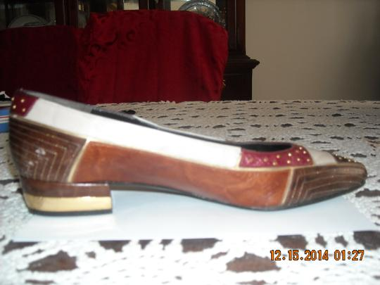 Other LIGHT & DARK BROWN, MAROON, PEARL Pumps