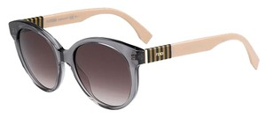 Fendi NEW FENDI Pequin Asian Fit FF0013/S 07TE Gray K8 SunGlasses FREE SHIP