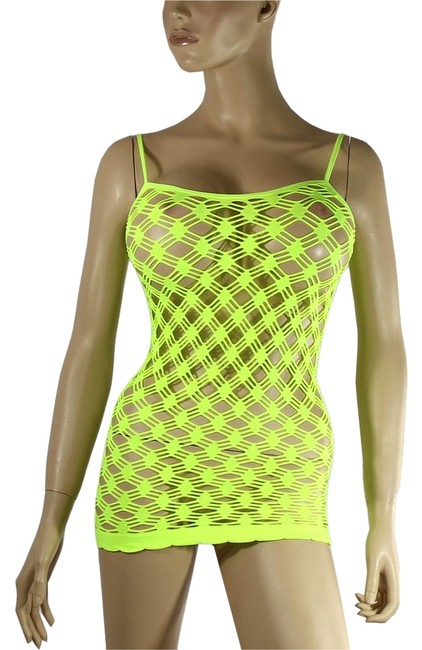 Preload https://item5.tradesy.com/images/exoticwear-top-neon-yellow-1855434-0-0.jpg?width=400&height=650