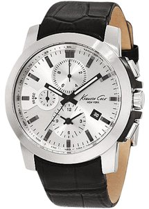 Kenneth Cole Kenneth Cole New York Men's KC1845 Dress Chronograph Black Watch