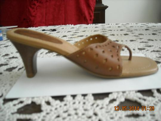 Fioni BROWN AND TAN Sandals