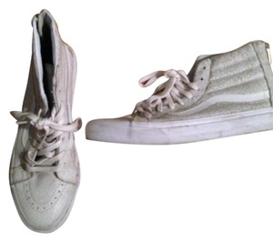 Vans Madewell Sneaker High Tops Grey and White Athletic