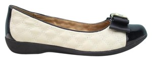 White Mountain BLACK/IVORY Flats