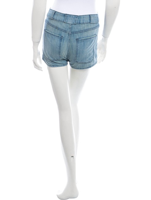 Current/Elliott Vintage Cute Summer Mini/Short Shorts Blue Image 1