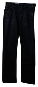 Citizens of Humanity Mens Straight Leg Jeans-Dark Rinse