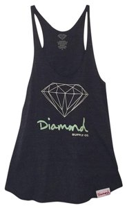 Diamond Supply Co. Top Gray with diamond logo