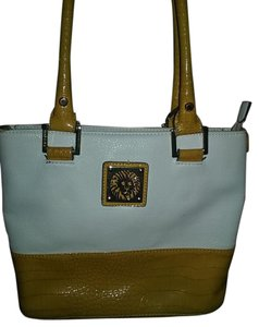Anne Klein Tote in Off White and Yellow