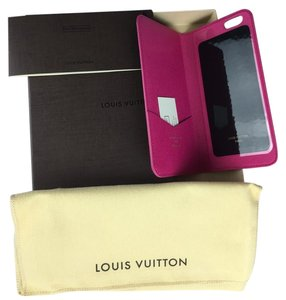 Louis Vuitton Louis Vuitton Flat IPhone 6 Plus Case with Pink Interior