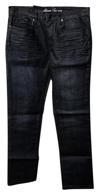 Preload https://img-static.tradesy.com/item/18555838/kenneth-cole-black-dark-rinse-slim-low-fit-skinny-jeans-size-30-6-m-0-1-650-650.jpg