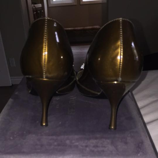 Prada Bronze Pumps Image 2