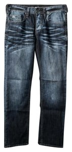 Buffalo David Bitton Straight Leg Jeans-Medium Wash
