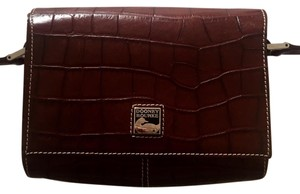 Dooney & Bourke Leather Crocodile Cross Body Bag
