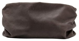 Maison Margiela Leather Chocolate Brown Dark brown Clutch
