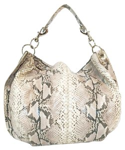 Rebecca Minkoff Python Embossed Leather Hobo Bag