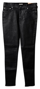 True Religion Skinny Womens Skinny Jeans-Dark Rinse