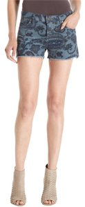 Citizens of Humanity Manic Blue Cut Off Shorts Blue Coyote