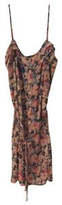 Urban Outfitters short dress peach/multi on Tradesy