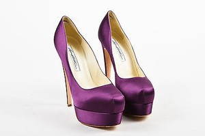 Brian Atwood Plum Purple Pumps