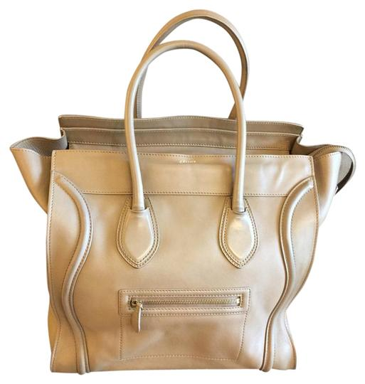 Preload https://img-static.tradesy.com/item/18558568/celine-luggage-medium-tan-leather-satchel-0-1-540-540.jpg