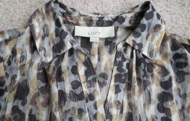 Ann Taylor LOFT Top Animal Print