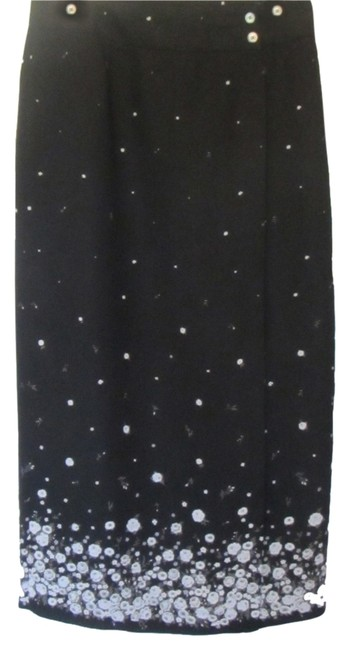 Liz Claiborne Skirt black and white