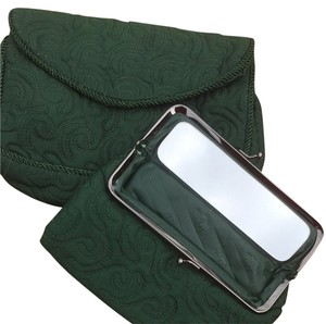 Oscar de la Renta Green Travel Bag