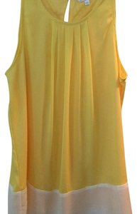 Charming Charlie Top Yellow