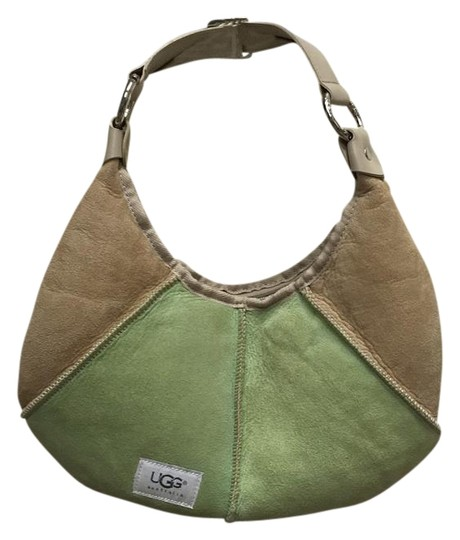 Preload https://img-static.tradesy.com/item/18559348/ugg-australia-2574-green-and-beige-leather-and-suede-baguette-0-1-540-540.jpg