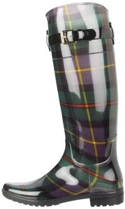 Ralph Lauren Boot Plaid Rain Boots