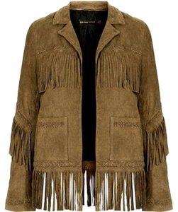 Kate Moss for Topshop Brown Jacket