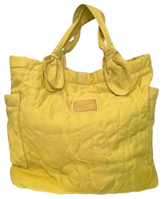 Item - Quilted Yellow Nylon Tote