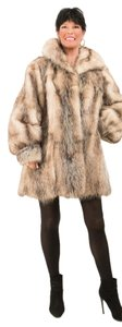 Saga Furs Fur Fur Fur Opposum Fur Coat
