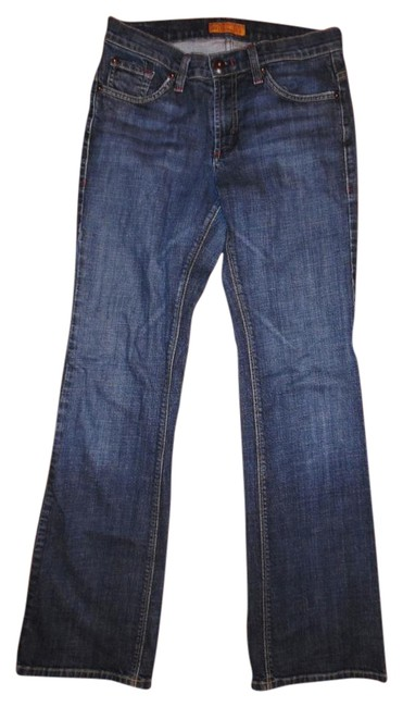 Preload https://img-static.tradesy.com/item/18559885/james-jeans-dark-blue-distressed-hector-dry-aged-denim-boot-cut-jeans-size-28-4-s-0-1-650-650.jpg