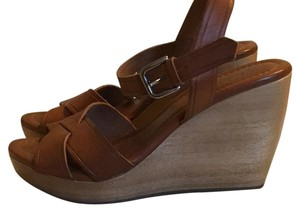 Madewell Brown Wedges