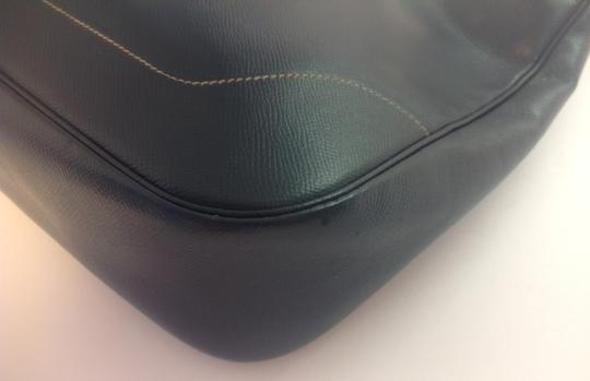 Hermès Vintage 31 Cm Trim Indigo Shoulder Hobo Bag