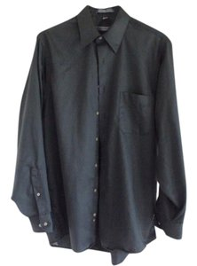 Geoffrey Beene Button Down Shirt Olive Green