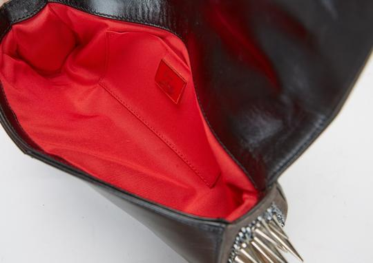 Christian Louboutin Marquise Leather Black Clutch