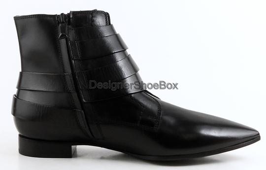 CoSTUME NATIONAL Designer Ankle Eur 36 Black Boots