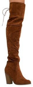 Chase & Chloe Brown Boots