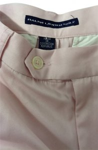 Ralph Lauren Golf Classic Flattering High Waited Light Summery Cuffed Shorts pink