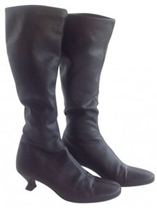 Jaime Mascaro Soft Stretchy Leather Black Boots